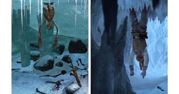Luke Skywalker's Skeletal Remains In 'The Elder Scrolls V: Skyrim'