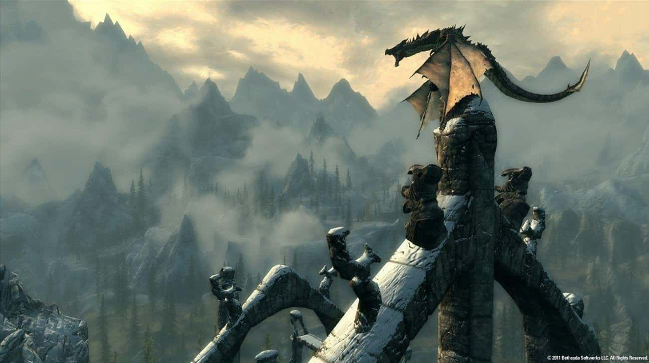 The Elder Scrolls V: Skyrim is listed (or ranked) 2 on the list 16 Games You Need To Play If You Love The 'Fallout' Franchise