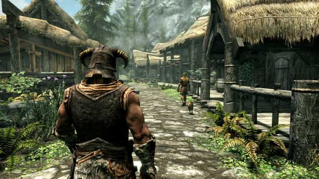 The Elder Scrolls V: Sky... is listed (or ranked) 1 on the list The 15 Most Difficult Video Games To Beat, Ranked By Gamers