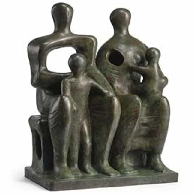 Family Group is listed (or ranked) 3 on the list Famous Henry Moore Sculptures