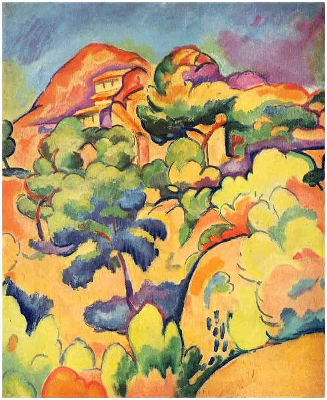 Landscape at La Ciotat ... is listed (or ranked) 1 on the list Famous Georges Braque Paintings
