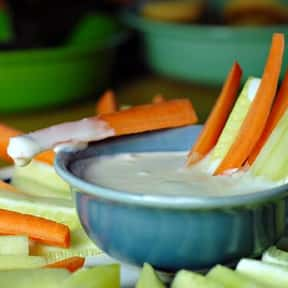 Ranch dressing is listed (or ranked) 6 on the list The Tastiest Types of Salad Dressing, Ranked