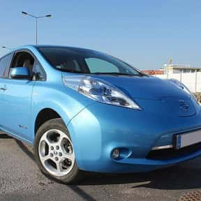 Nissan Leaf is listed (or ranked) 2 on the list The Greenest Green Cars