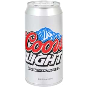 Coors Light is listed (or ranked) 1 on the list The Best Beers to Chug