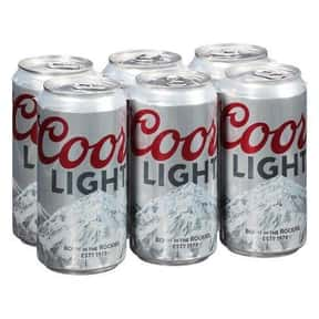 Coors Light is listed (or ranked) 7 on the list The Best American Domestic Beers