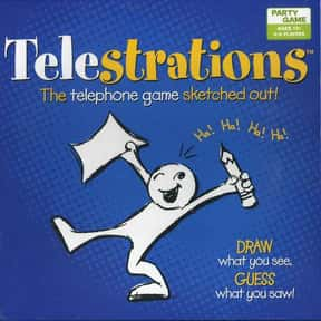 Telestrations is listed (or ranked) 15 on the list The Best Board Games For 6-8 Players
