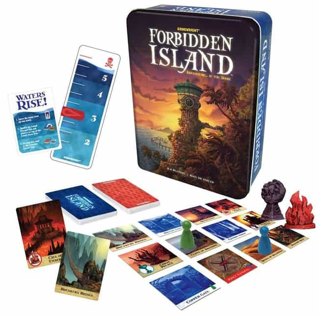 Forbidden Island is listed (or ranked) 3 on the list The Most Popular Cooperative Board Games