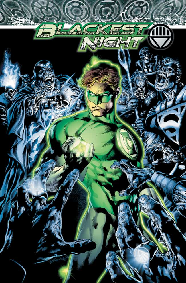 Blackest Night is listed (or ranked) 2 on the list The Greatest Green Lantern Stories Ever Told