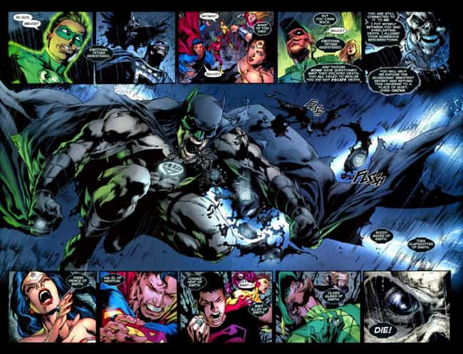 Blackest Night is listed (or ranked) 2 on the list The Best DC Crossover Events