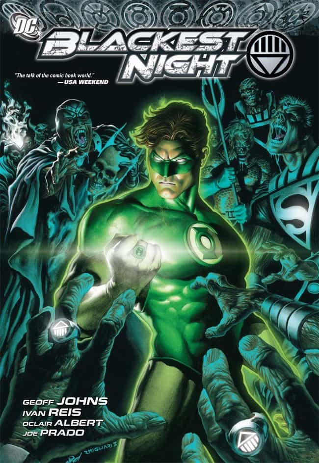 Blackest Night is listed (or ranked) 1 on the list The Best Storylines That Feature Green Lantern