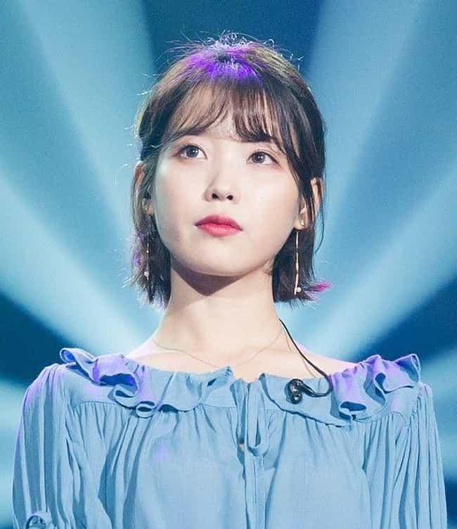IU is listed (or ranked) 4 on the list The Most Beautiful Korean Actresses