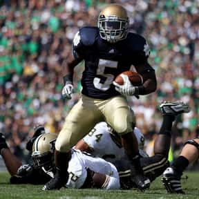 Armando Allen is listed (or ranked) 24 on the list The Best Notre Dame Fighting Irish Running Backs of All Time