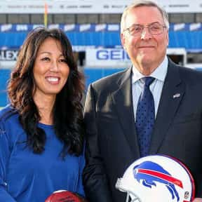 Terrence and Kim Pegula is listed (or ranked) 16 on the list The Best Current NFL Team Owners