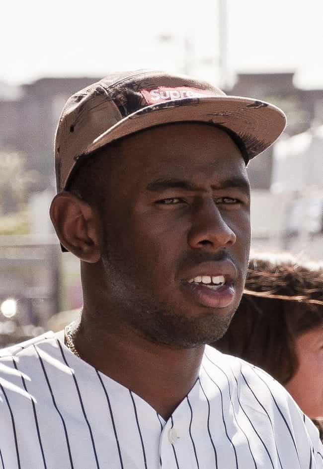 Tyler, the Creator is listed (or ranked) 4 on the list Sober Rappers Who Don't Drink or Do Drugs