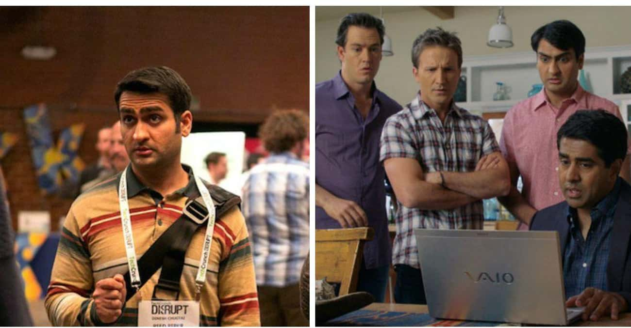 Kumail Nanjiani is listed (or ranked) 4 on the list 15 Times You've Seen the Silicon Valley Actors Before