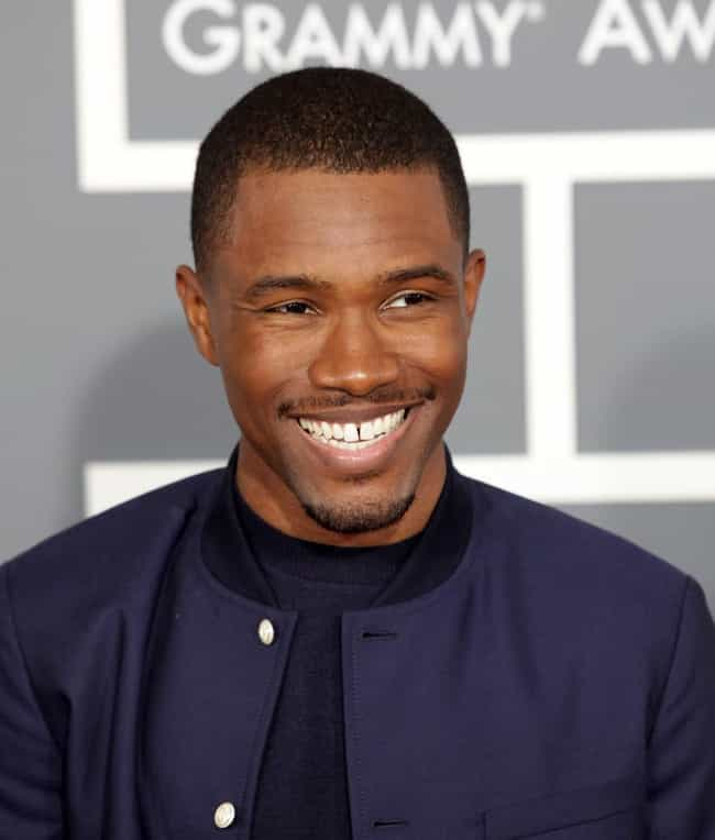 Frank Ocean is listed (or ranked) 1 on the list Rappers You Didn't Know Are Bisexual