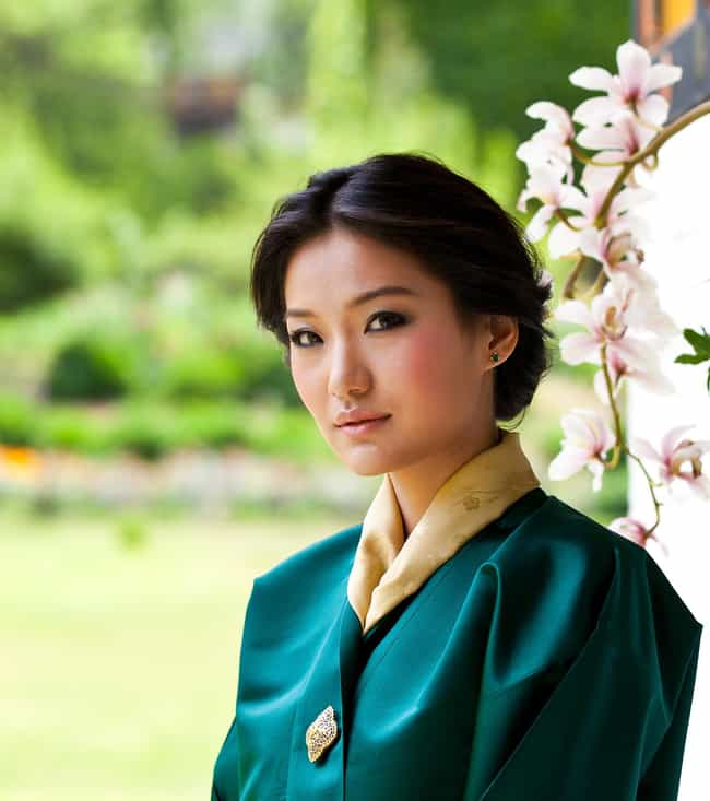 Jetsun Pema is listed (or ranked) 4 on the list The Most Beautiful Royal Women Around the World