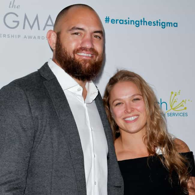 Travis Browne is listed (or ranked) 1 on the list Ronda Rousey Loves and Hookups