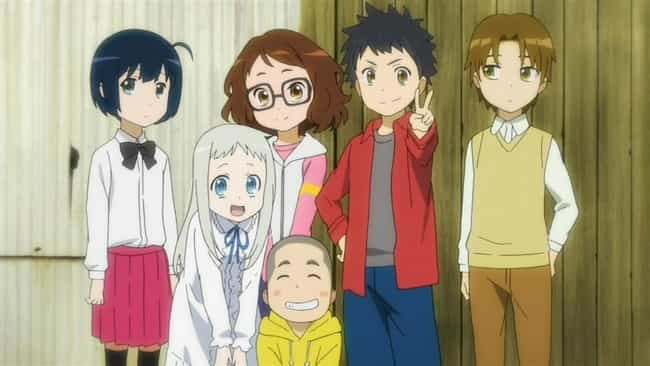 Anohana: The Flower We Saw Tha... is listed (or ranked) 4 on the list The 20 Best Drama Anime of All Time