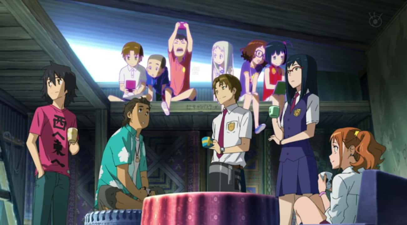 Anohana: The Flower We Saw Tha is listed (or ranked) 3 on the list The 15 Most Depressing Anime Endings That Left You Dead Inside