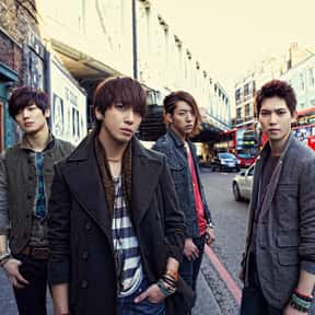 CNBLUE is listed (or ranked) 7 on the list The Best Korean Rock Bands/Artists