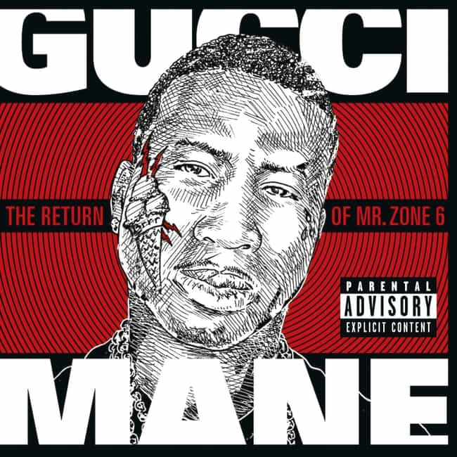 The Return of Mr. Zone 6 is listed (or ranked) 4 on the list The Best Gucci Mane Albums of All Time
