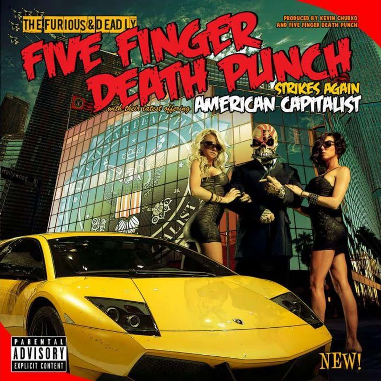 American Capitalist is listed (or ranked) 3 on the list The Best Five Finger Death Punch Albums, Ranked