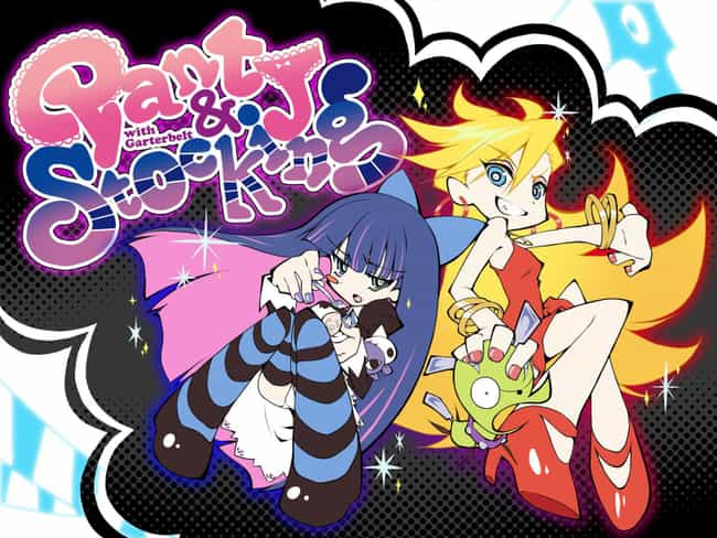 Panty & Stocking wit... is listed (or ranked) 4 on the list The Most Unique Art Styles in Anime