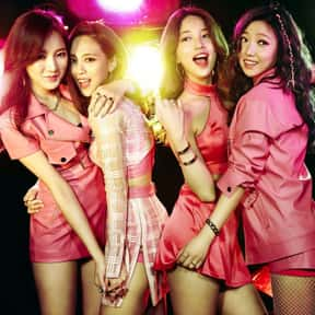 Miss A is listed (or ranked) 13 on the list The Best JYP Entertainment Artists Ever, Ranked
