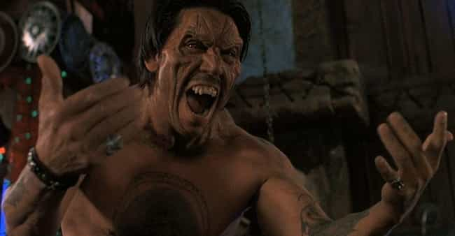 Razor Charlie is listed (or ranked) 2 on the list Danny Trejo's 21 Strangest B-Movie Roles