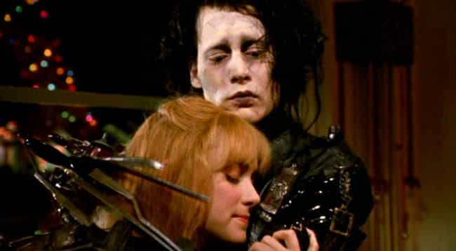 Edward Scissorhands is listed (or ranked) 1 on the list The Most Memorable Introverts In Movie History