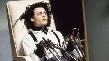Edward From 'Edward Scissorhands'