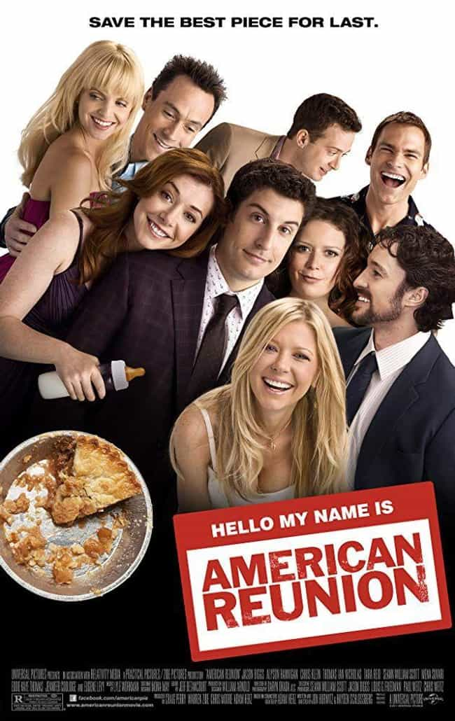 American Reunion is listed (or ranked) 3 on the list Every 'American Pie' Movie, Ranked by Hilarity