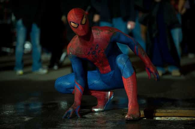 The Amazing Spider-Man is ranked # 3 (or Leaderboard) in every Live Action Spider-Man costume ranking