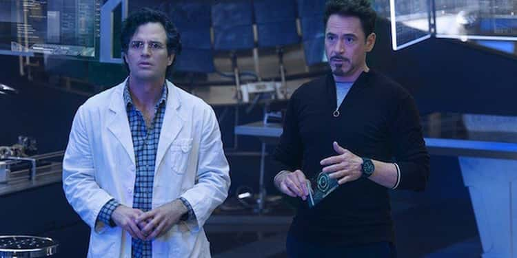 Tony Stark And Bruce Banner Perform Reckless Experiments Using The Mind Stone