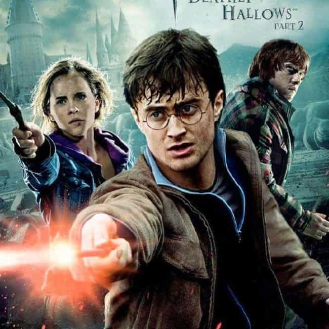 Harry Potter and the Deathly H... is listed (or ranked) 1 on the list All Harry Potter Movies, Ranked Best to Worst