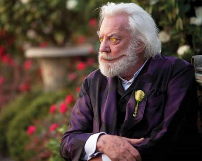 President Snow is listed (or ranked) 4 on the list What The Hunger Games SHOULD Have Looked Like In The Movies