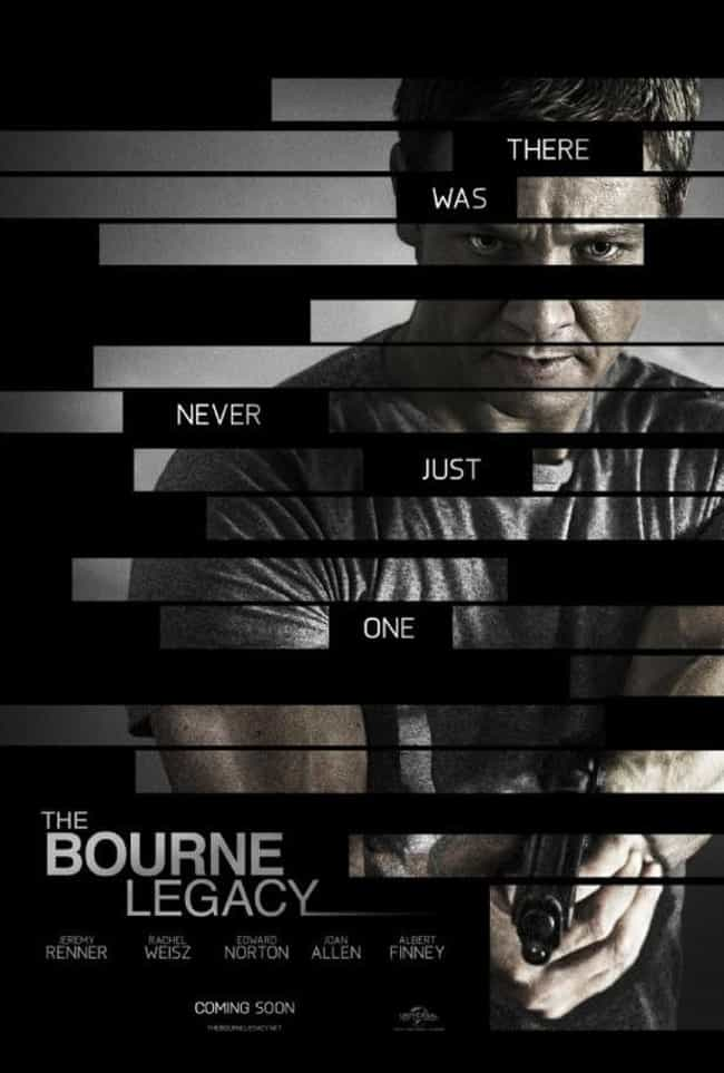 The Bourne Legacy is listed (or ranked) 4 on the list The Best Movies And Series In The 'Bourne' Franchise