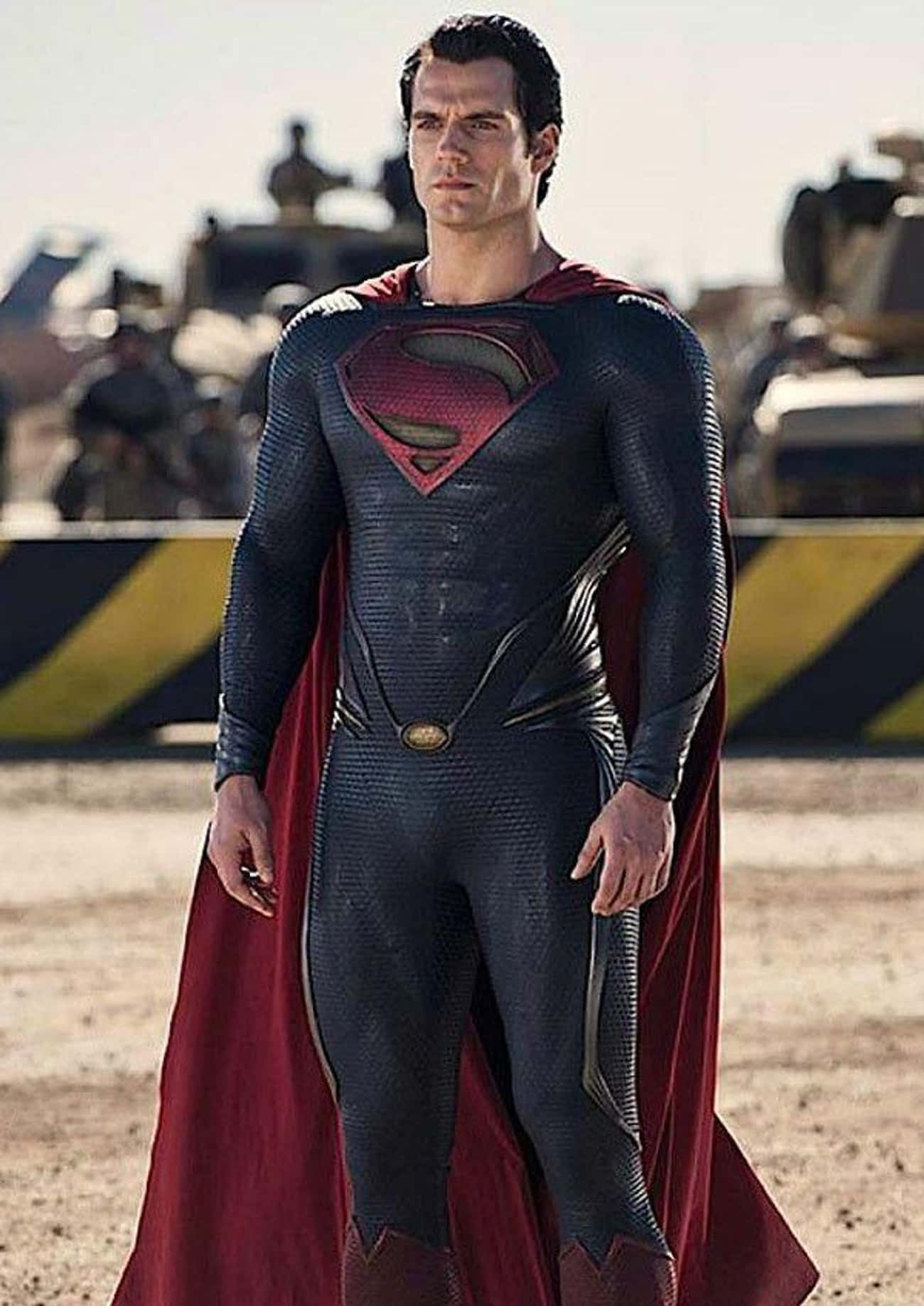 The 'Man Of Steel' Suit