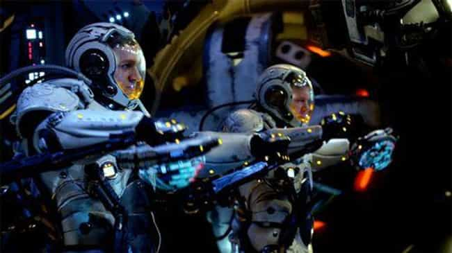 Pacific Rim is listed (or ranked) 7 on the list The Dumbest Technology In Science Fiction