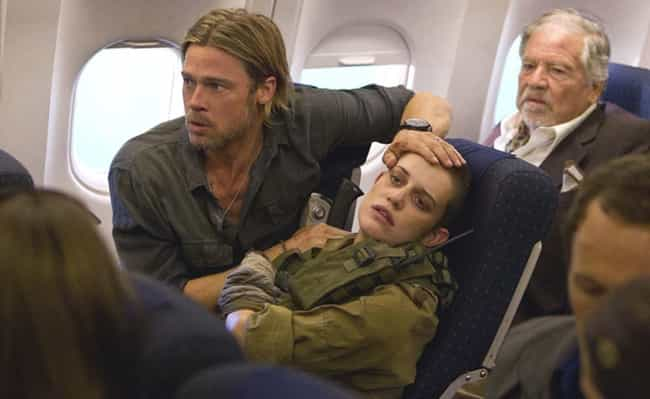 World War Z is listed (or ranked) 4 on the list Plot Holes That'll Ruin Your Favorite Horror Movies