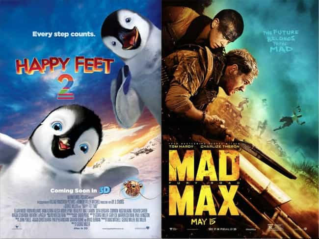 Happy Feet Two is listed (or ranked) 2 on the list 21 Surprisingly Bad Movies Directed by Good Directors