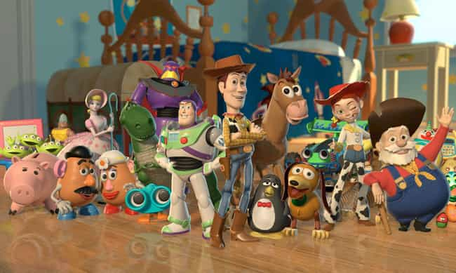 Toy Story is listed (or ranked) 4 on the list Movies That Made More Money On Merchandising Than At The Box Office