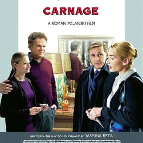 Carnage is listed (or ranked) 11 on the list The Best Kate Winslet Movies