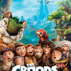 The Croods is listed (or ranked) 13 on the list The Best Ryan Reynolds Movies
