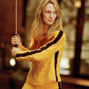 "Beatrix Kiddo, ""The Bride& is listed (or ranked) 5 on the list The Greatest Female Characters in Film History"