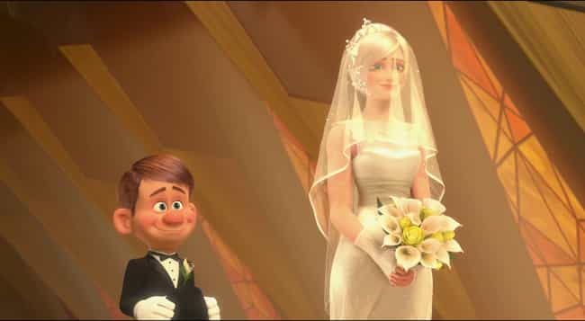 Wreck-It Ralph is listed (or ranked) 3 on the list The Best Cartoon Wedding Dresses, Ranked By Fans