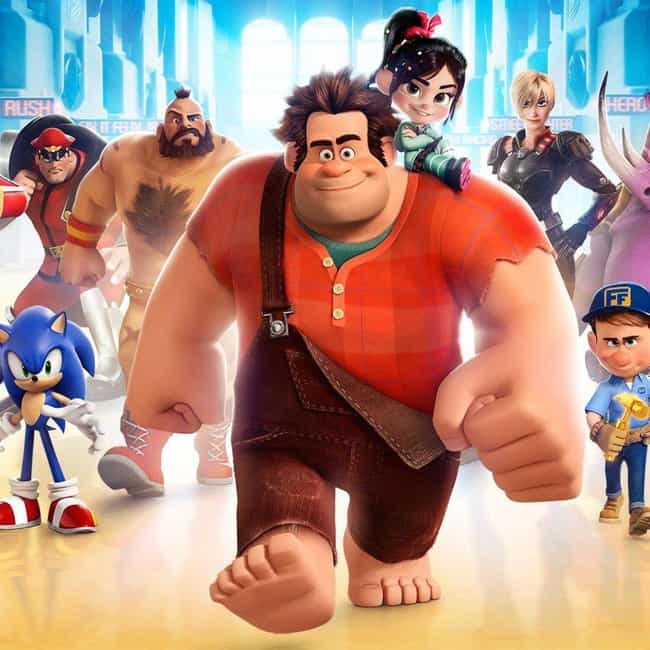 Wreck-It Ralph is listed (or ranked) 7 on the list Characters Whose Heights You Were Totally Wrong About