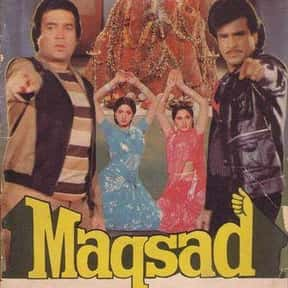 Maqsad is listed (or ranked) 19 on the list The Best Sridevi Kapoor Movies