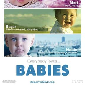 Babies is listed (or ranked) 17 on the list The Best Documentaries About Pregnancy